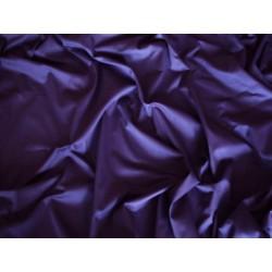 Prześcieradło satynowe proste 160x210 fioletowe