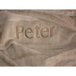 Ręcznik egipski beżowy 70x130