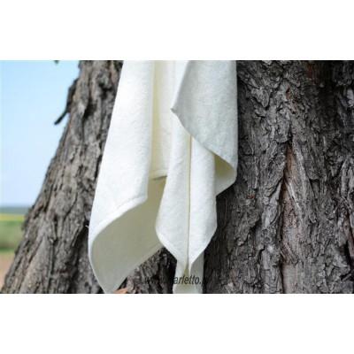 Ręcznik bambusowy kremowy 45x100
