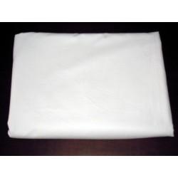 Prześcieradło bawełniane białe 160/240