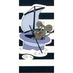 Ręcznik plażowy mysz 75x150