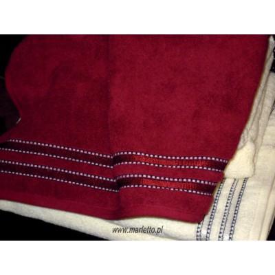 Ręcznik Porto bordowy 50x90