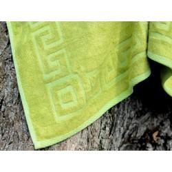 Ręcznik bambusowy zielony 45x100