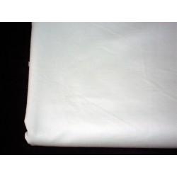 Prześcieradło do łóżeczka białe bawełniane