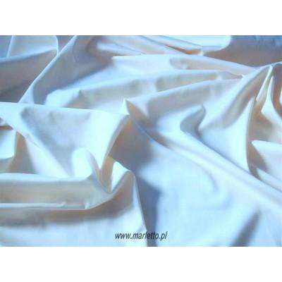 Prześcieradło satynowe proste 160x210 białe