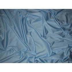 Prześcieradło satynowe proste 160x210 niebieskie