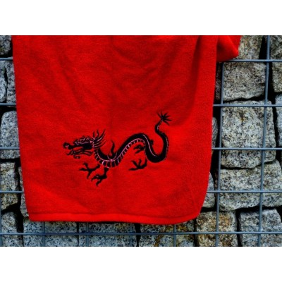Ręcznik egipski czerwony 50x90