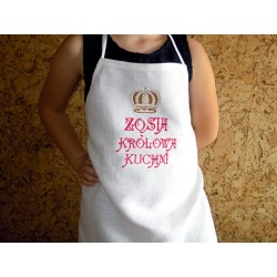 Fartuszek kuchenny dziecięcy