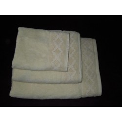 Ręczniki z koronką 3 szt