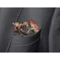 Bawełniana poszetka do garnituru kolorowa