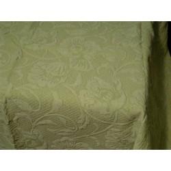 Narzuta zielona 160x210 bawełniana