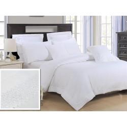 Pościel bawełniana biała 160/200