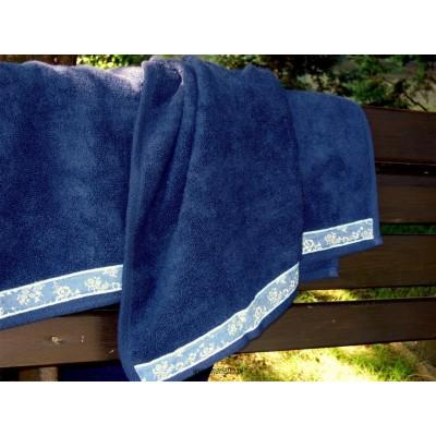 Ręcznik plażowy 75x150 delfiny