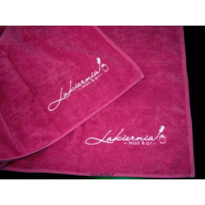 Ręcznik z logo firmy