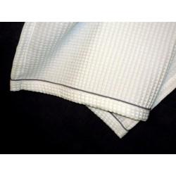 Ręcznik 70x140 gofrowany biały