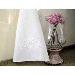 Ścierki kuchenne białe bawełniane