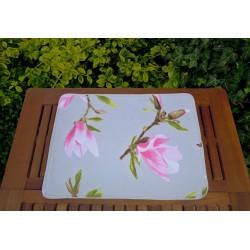 Bawełniane podkładki na stół, magnolia 2 szt